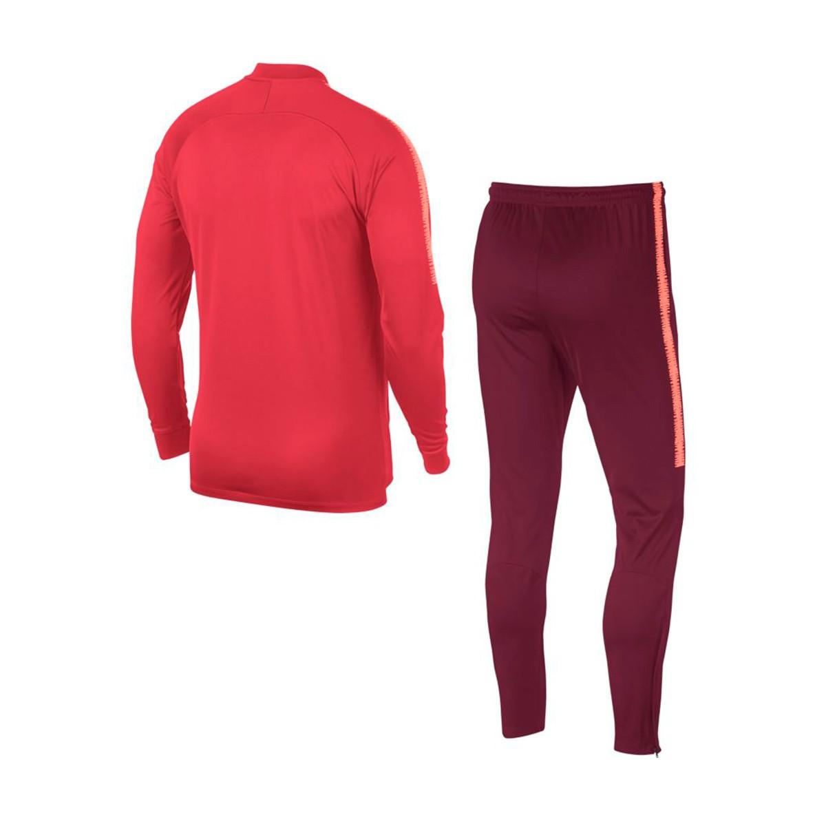 Fato de treino Nike FC Barcelona Squad 2018-2019 Tropical pink-Deep  maroon-Light atomic pink - Loja de futebol Fútbol Emotion 2046597bc5