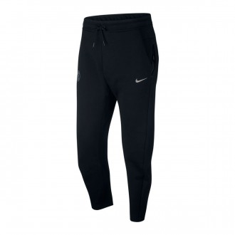 Pantalón largo  Nike Inter Milán Tech Fleece 2018-2019 Black-Metallic silver