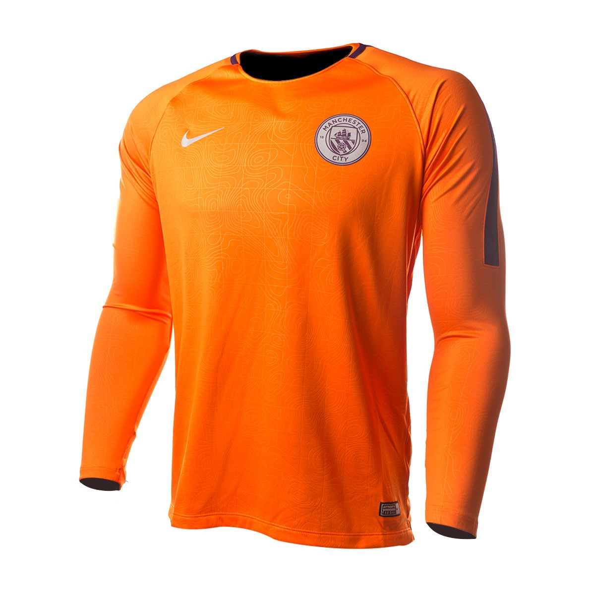 6afa22bdb Sweatshirt Nike Manchester City FC Squad 2018-2019 Safety orange ...