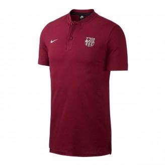 Polo  Nike FC Barcelona Grand Slam Deep maroon-Metallic silver