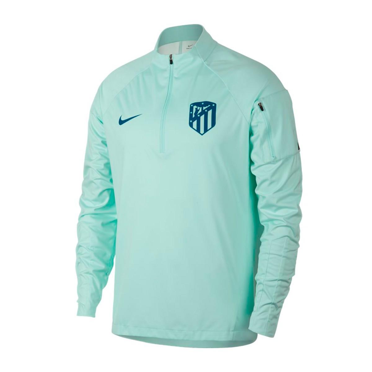 e61f4a172a83e Sweatshirt Nike Atlético de Madrid Squad 2018-2019 Igloo-Green abyss ...