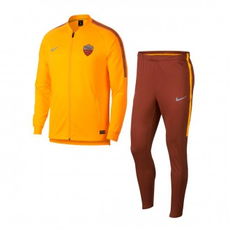 Conjunto pants  Nike AS Roma Squad 2018-2019 University gold-Mars stone