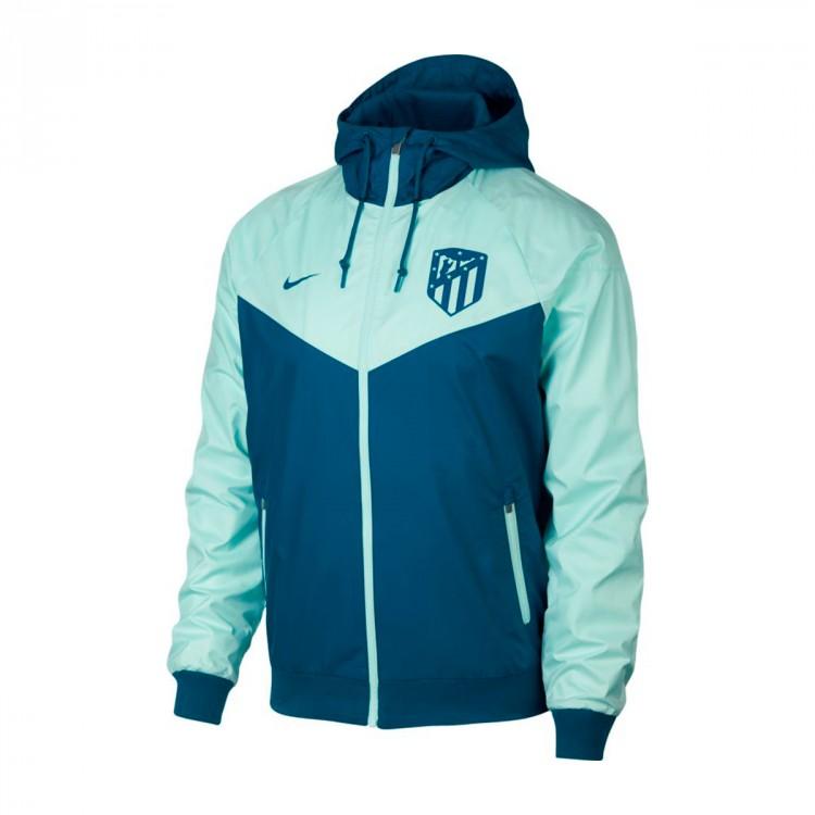 0b8e34bdee Jacket Nike Atlético de Madrid Windrunner 2018-2019 Green abyss ...