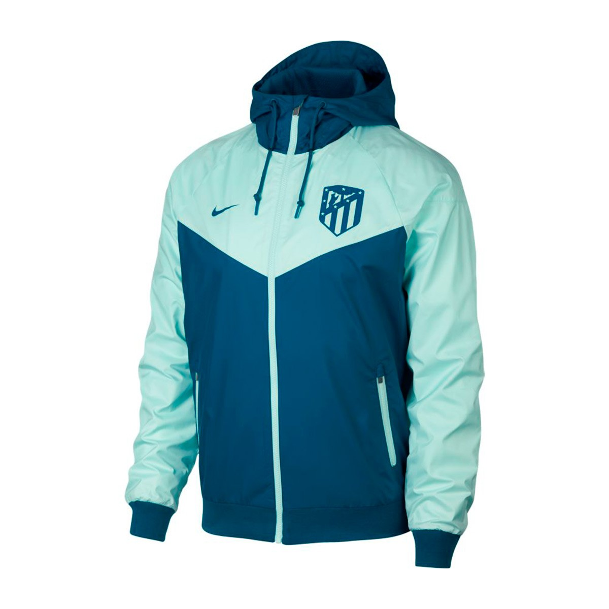 fb74288c0 Jacket Nike Atlético de Madrid Windrunner 2018-2019 Green abyss ...