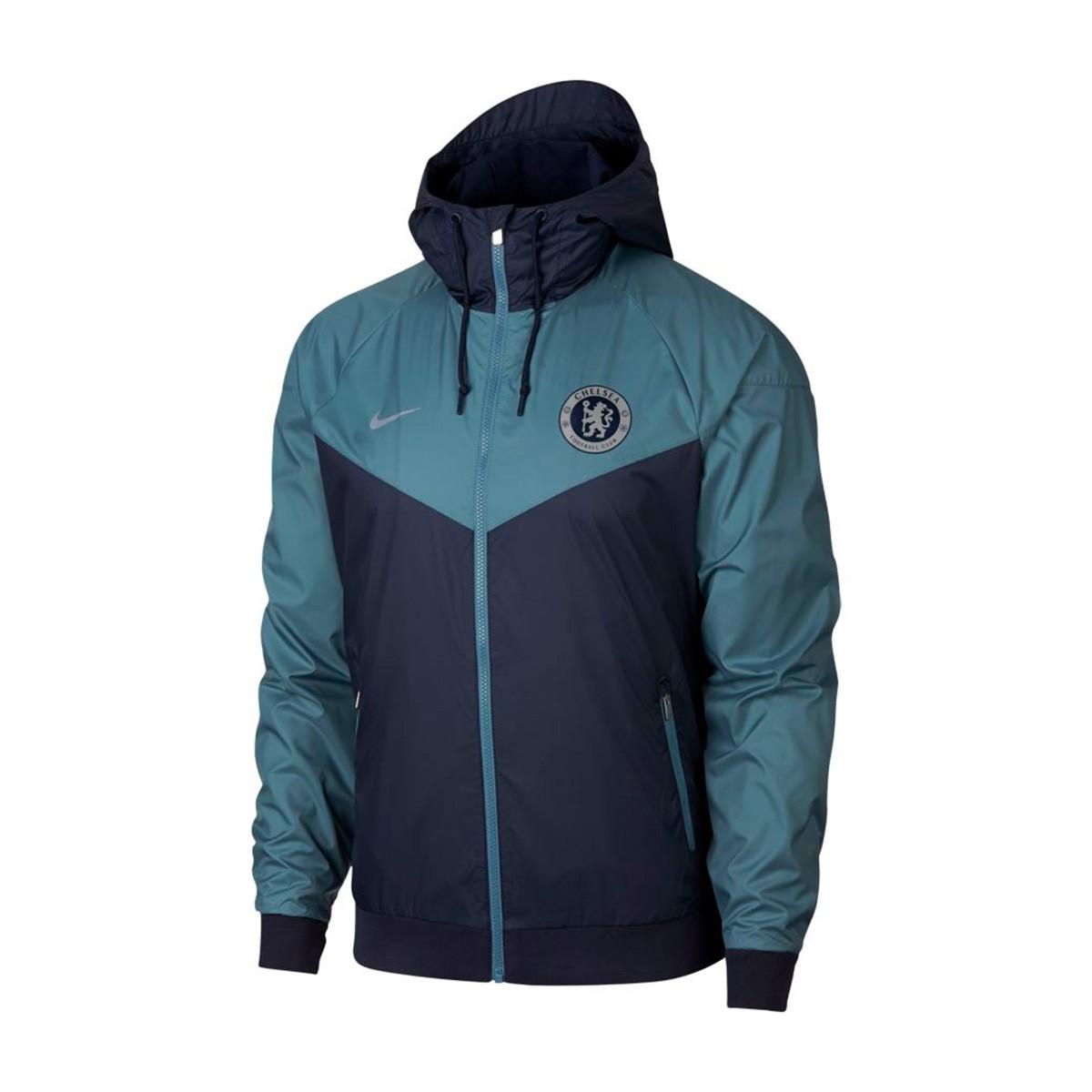 b585bef6ab Jacket Nike Chelsea FC Windrunner 2018-2019 Obsidian-Celestial teal ...