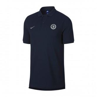 Polo shirt  Nike Chelsea FC 2018-2019 Obsidian-Metallic silver