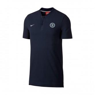 Polo  Nike Chelsea FC 2018-2019 Obsidian-Metallic silver