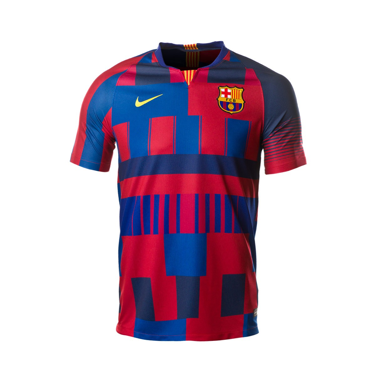 Apretar He aprendido Subproducto  Jersey Nike FC Barcelona Stadium 20 years Deep royal blue-Noble red-Tour  yellow - Football store Fútbol Emotion