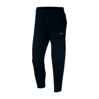 Long pants   Nike Tottenham Hotspur FC Tech Fleece 2018-2019 Black-Metallic silver