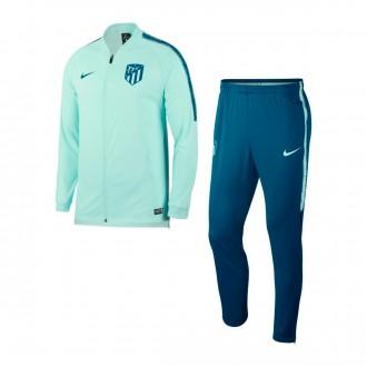 Fato de treino  Nike Atlético de Madrid Squad 2018-2019 Igloo-Green abyss