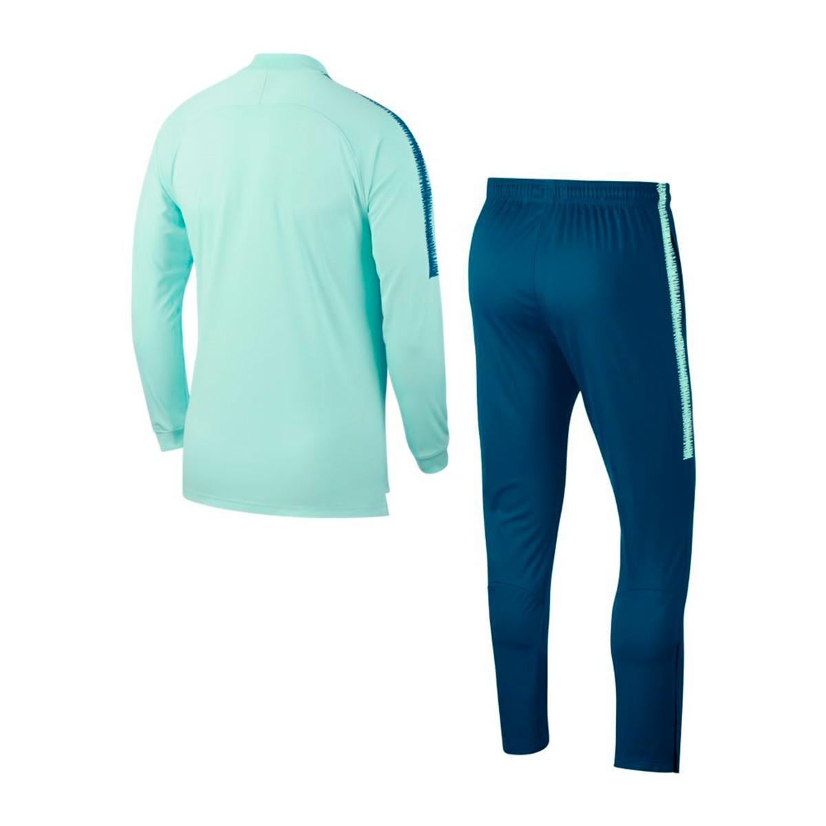 57bb1e23590d7 Survêtement Nike Atlético de Madrid Squad 2018-2019 Igloo-Green abyss -  Boutique de football Fútbol Emotion
