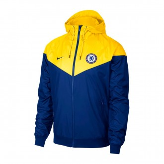 Chaqueta  Nike Chelsea FC Windrunner 2018-2019 Rush blue-Tour yellow-Rush blue