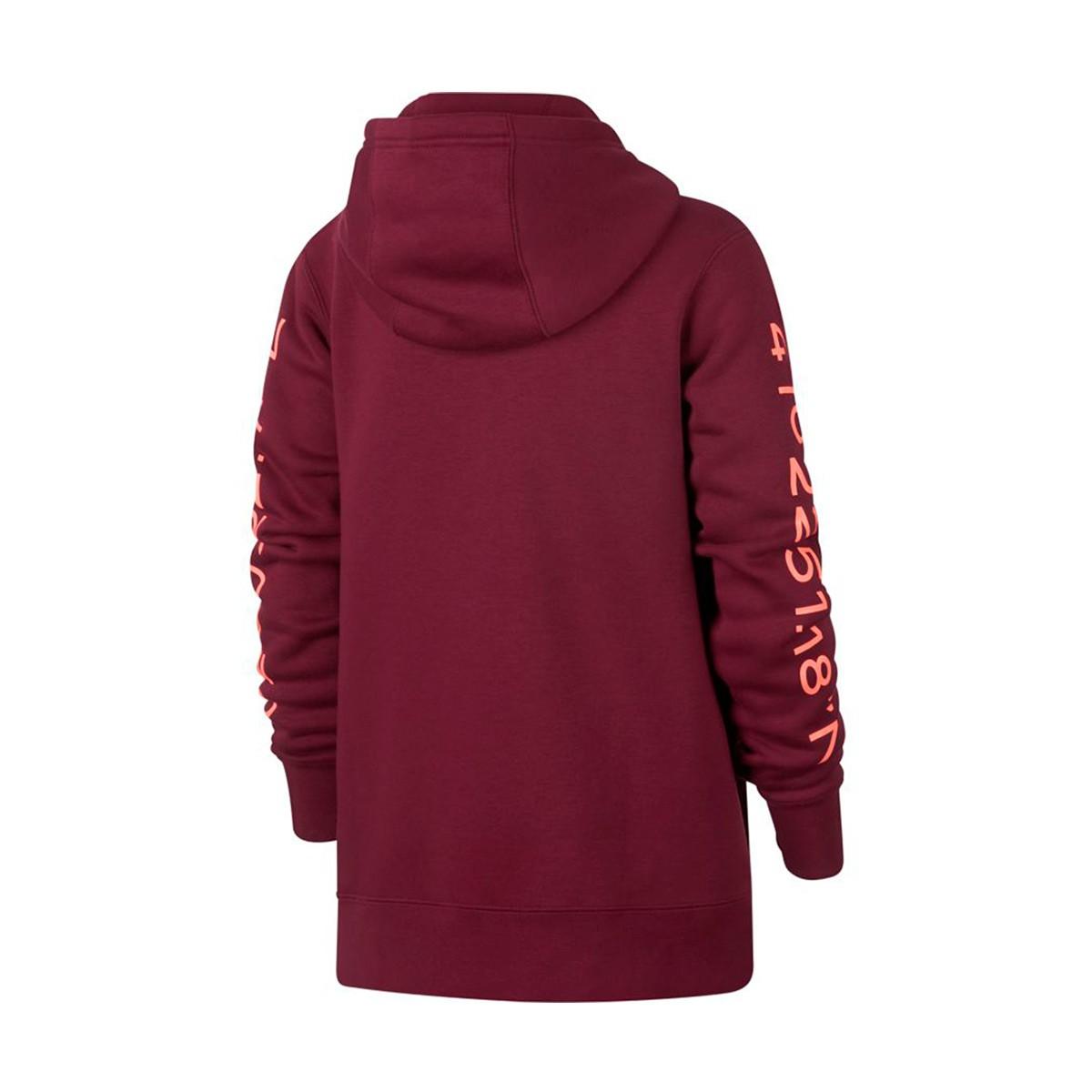 387040c317a Sweatshirt Nike Kids FC Barcelona 2018-2019 Deep maroon-Light atomic ...