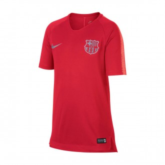 Camiseta  Nike FC Barcelona Squad 2018-2019 Niño Tropical pink-Light atomic pink