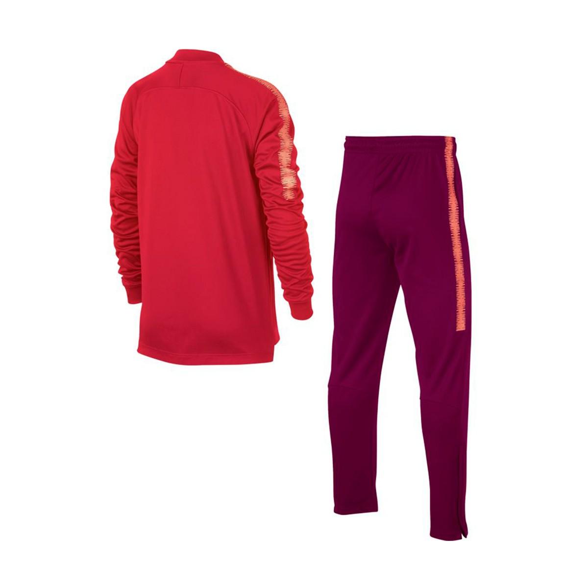 Chándal Nike FC Barcelona Squad 2018-2019 Niño Tropical pink-Deep ... 8c6cba1b98bec
