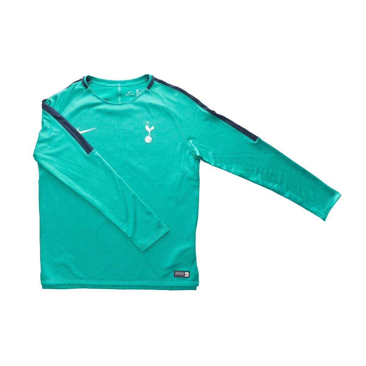 f30c523d0 Sweatshirt Nike Kids Tottenham Hotspur FC Squad 2018-2019 Neptune green-Armory  navy - Tienda de fútbol Fútbol Emotion