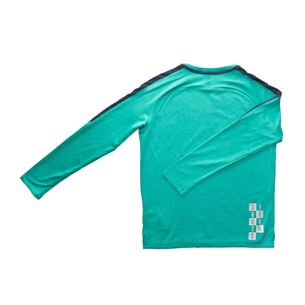 Sweatshirt Nike Kids Tottenham Hotspur Fc Squad 2018 2019 Neptune Green Armory Navy Football Store Futbol Emotion