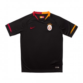 Jersey  Nike Kids Galatasaray FC Stadium 2018-2019 Away Black-Pepper red