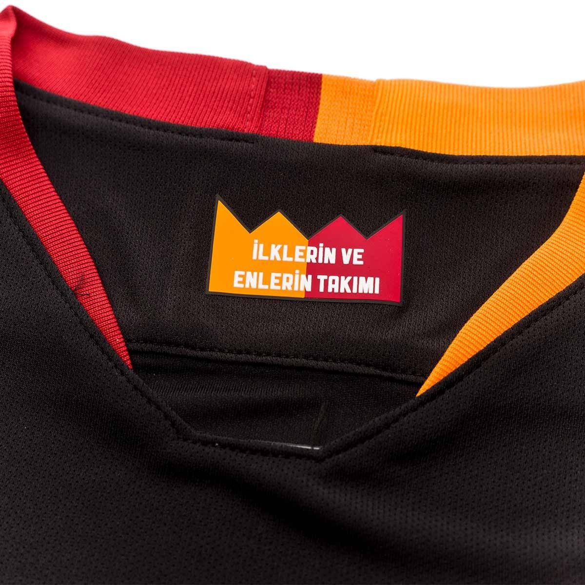 san francisco 02e77 2eb6d Camiseta Galatasaray FC Stadium Segunda Equipación 2018-2019 Niño  Black-Pepper red