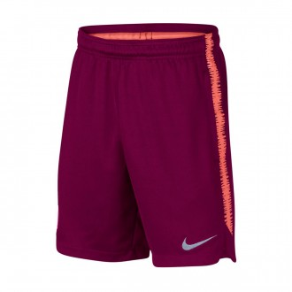 Pantalón corto  Nike FC Barcelona Squad 2018-2019 Niño Deep maroon-Light atomic pink