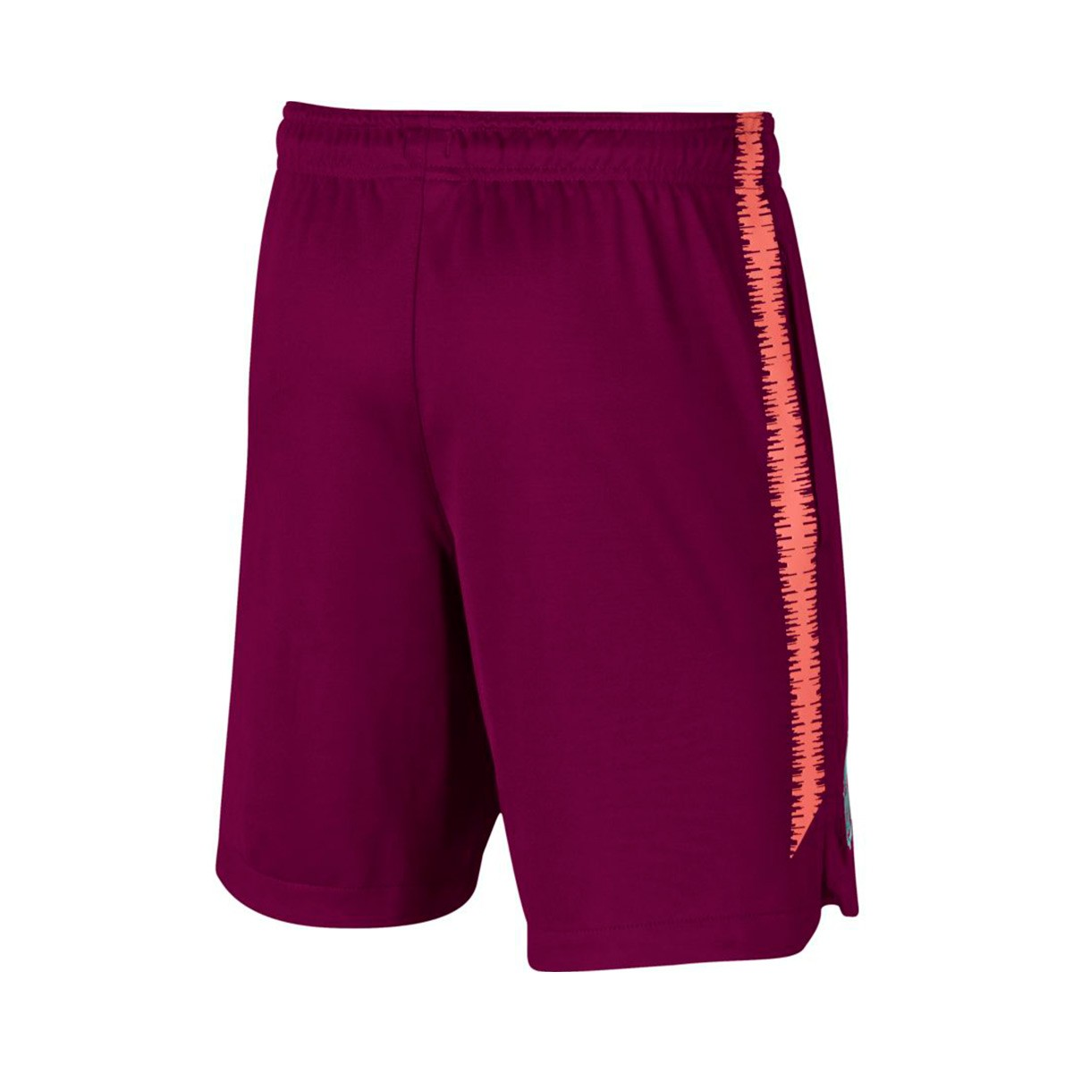 c1ea278a7c Nike Kids FC Barcelona Squad 2018-2019 Shorts. Deep maroon-Light atomic pink  ...