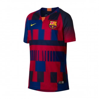 Camisola  Nike FC Barcelona Stadium 20 years Niño Deep royal blue-Noble red-Tour yellow
