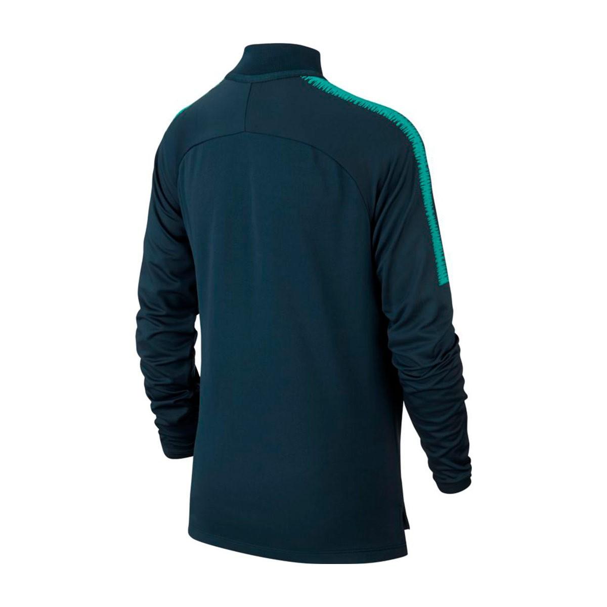 601fed2d4 Sweatshirt Nike Kids Tottenham Hotspur FC Squad 2018-2019 Armory navy-Neptune  green - Football store Fútbol Emotion