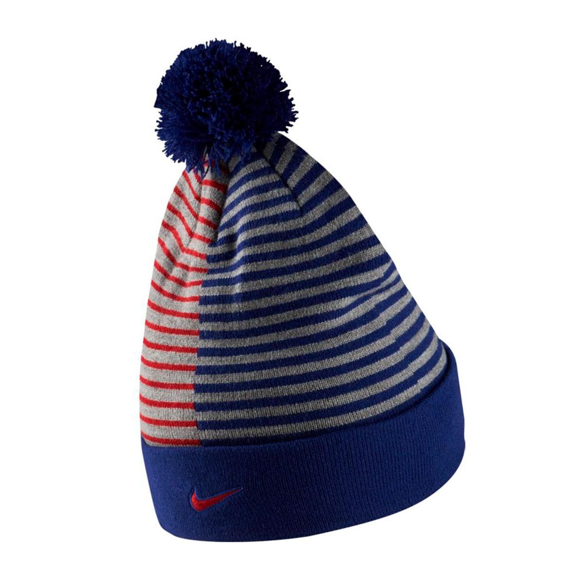 cheaper 56a16 c64c0 Beanie Nike FC Barcelona Beanie Stripe 2018-2019 Deep royal blue-Noble red  - Football store Fútbol Emotion
