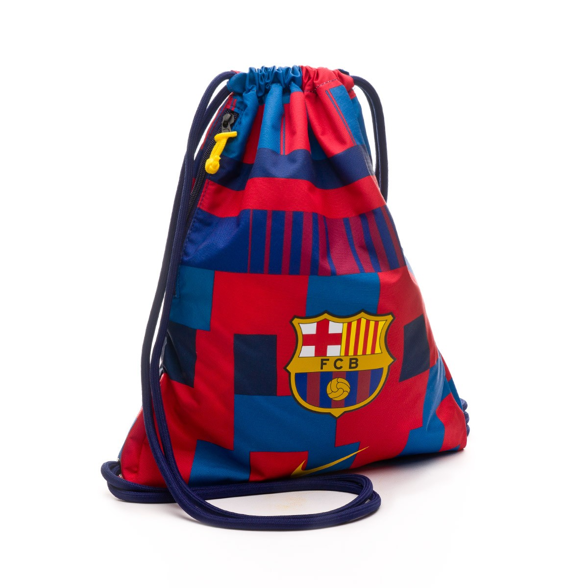 b7f074135 Mochila Nike Gymsack FC Barcelona Stadium 20 years Storm red-Storm  blue-Tour yellow - Tienda de fútbol Fútbol Emotion