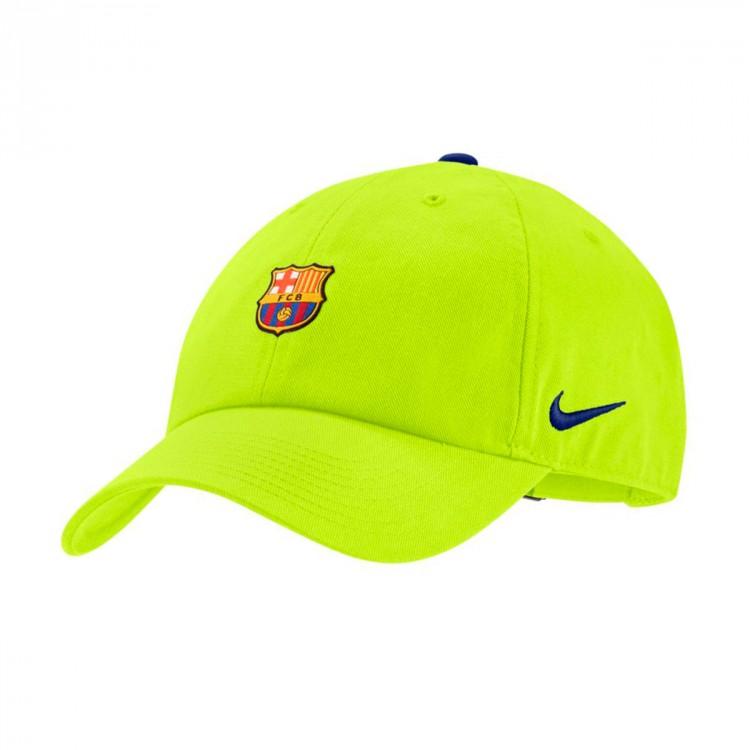 Gorra Nike FC Barcelona Heritage86 2018-2019 Cyber-Deep royal blue ... b93fe9ad388