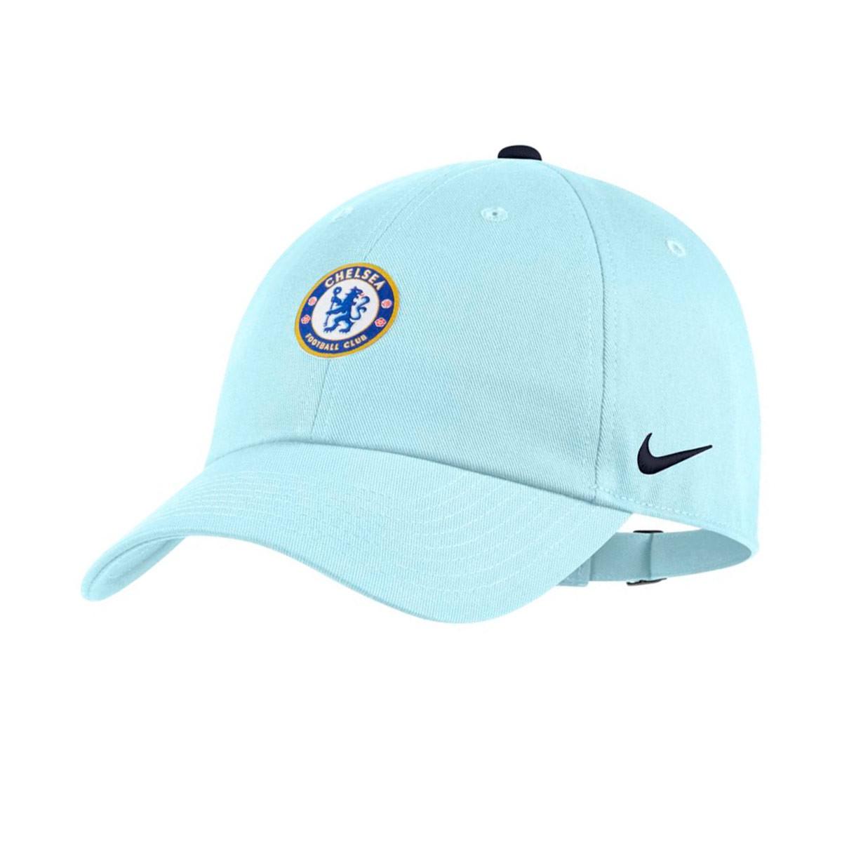 88685bf93cdfb8 Cap Nike Chelsea FC Heritage86 2018-2019 Glacier blue-Obsidian ...