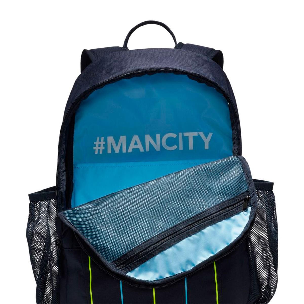 96bf8f23e1 Backpack Nike Manchester City FC Stadium 2018-2019 Dark Obsidian Dark  Obsidian-White - Football store Fútbol Emotion