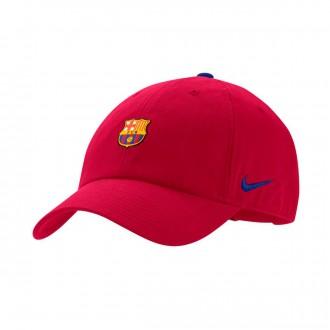 Cap  Nike FC Barcelona Heritage86 2018-2019 Noble red-Deep royal blue