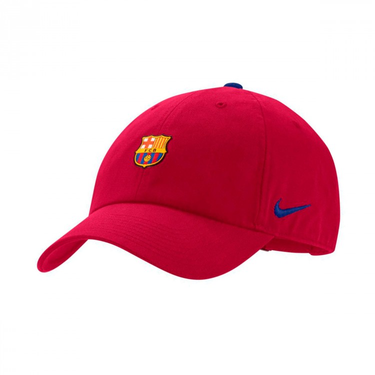 39ee45c5bcc6d Cap Nike FC Barcelona Heritage86 2018-2019 Noble red-Deep royal blue ...