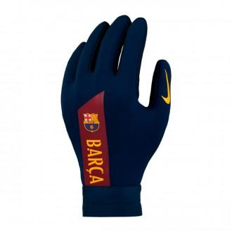 Glove  Nike Kids FC Barcelona Hyperwarm Academy 2018-2019  Obsidian-Noble red-University gold