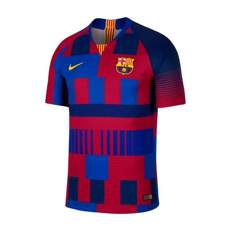 Camiseta Nike FC Barcelona Vapor Match 20 years Deep royal blue ... 1a930474aabc8