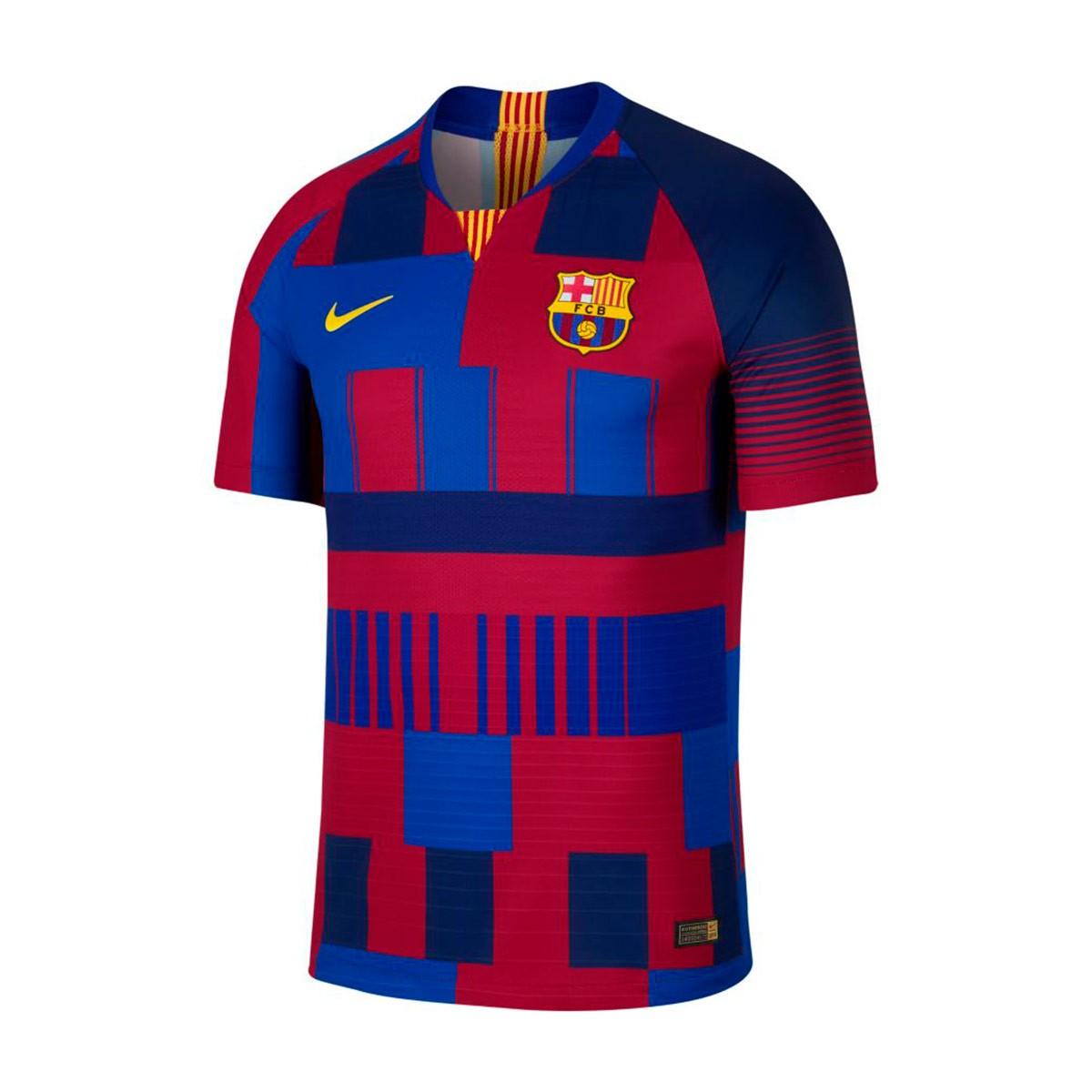 ad3d1f27c Jersey Nike FC Barcelona Vapor Match 20 years Deep royal blue-Noble red-Tour  yellow - Tienda de fútbol Fútbol Emotion