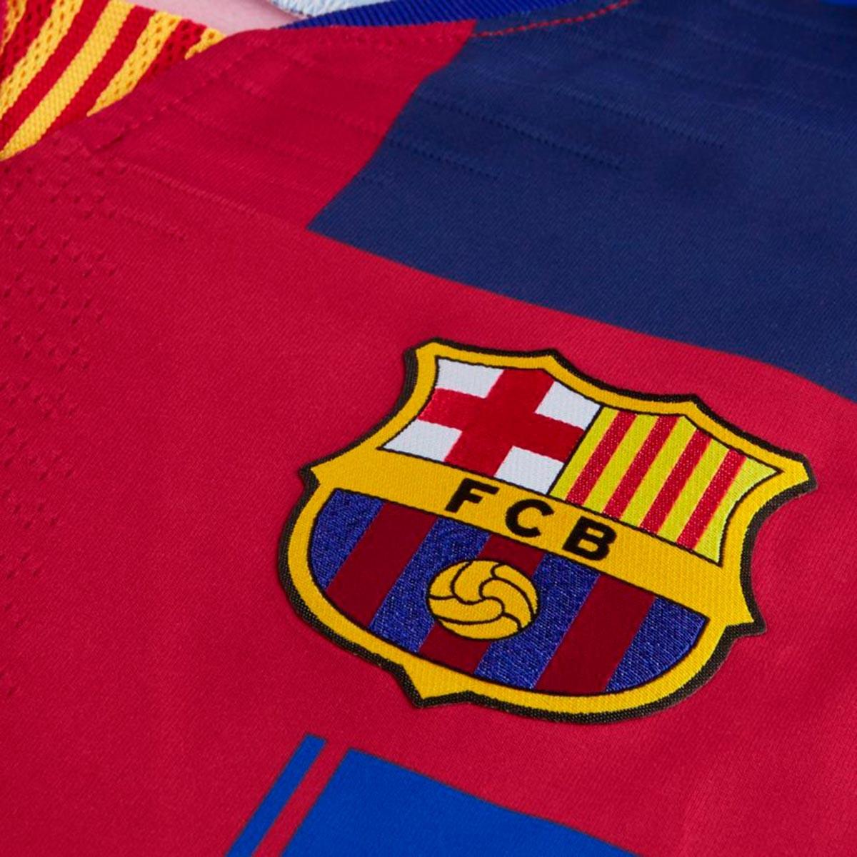 timeless design 433cf 37c03 Camiseta FC Barcelona Vapor Match 20 years Deep royal blue-Noble red-Tour  yellow