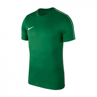 Maillot  Nike Park 18 Training m/c Pine green-White