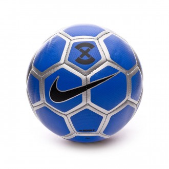 Bola de Futebol  Nike Nike Menor X Football Racer blue-Metallic silver-Black