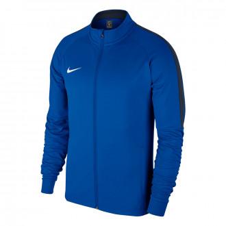 Casaco Nike Academy 18 Knit Royal blue-Obsidian-White