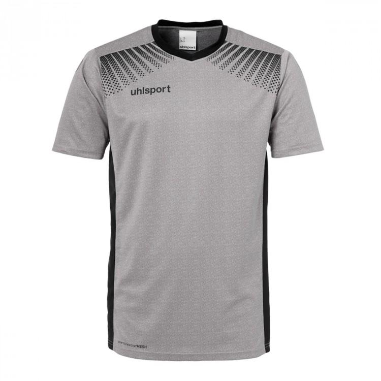 7184e9bd7 Jersey Uhlsport Goal m c Grey-Black - Football store Fútbol Emotion