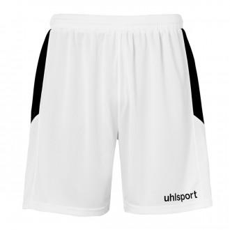 Short  Uhlsport Goal Blanc-Noir