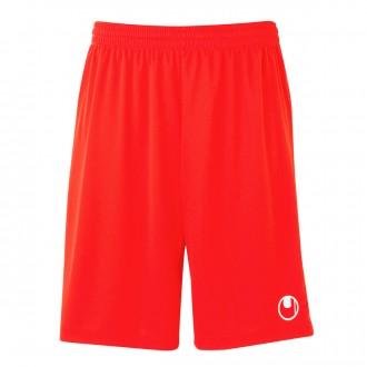 Short  Uhlsport Center Basic II Rouge