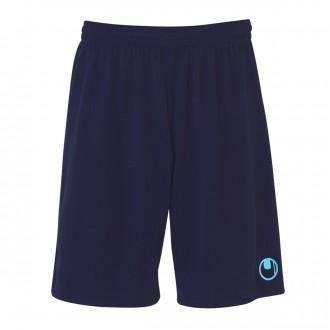 Short  Uhlsport Center Basic II Bleu marine-Bleu Clair