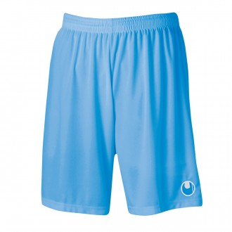 Pantalón corto  Uhlsport Center Basic II Celeste