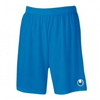 Short  Uhlsport Center Basic II Azul cyan