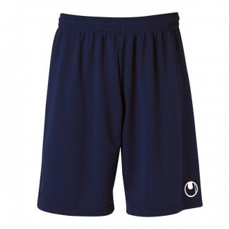 Short  Uhlsport Center Basic II Bleu marine-Blanc
