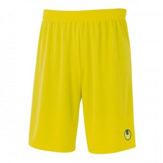 Pantalón corto  Uhlsport Center Basic II Amarillo lima