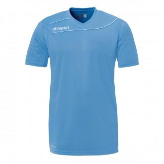 Camisola  Uhlsport Stream 3.0 m/c Azul celeste-Branco
